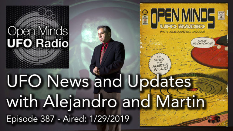 UFO News on Open Minds UFO Radio