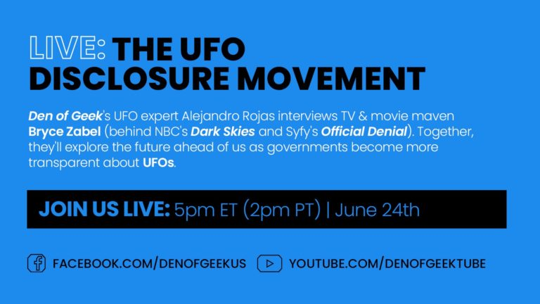 The UFO Disclosure Movement with Bryce Zabel